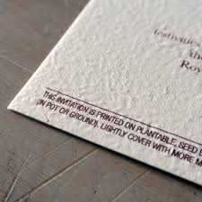 seeded paper 2 birds plantable wedding invitation flamingo