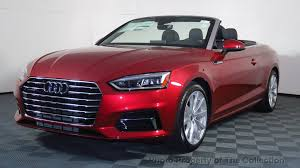 audi cabriolet convertible 2018 audi a5 cabriolet 2 0 tfsi sport at the collection