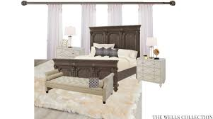 Bedroom Design Boards The Wells Collection Romantic Master Design Boards