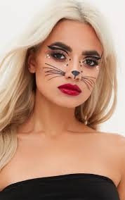 halloween face stickers beauty makeup u0026 accessories prettylittlething usa