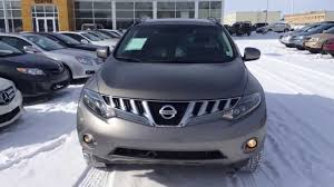 nissan canada virtual showroom pre owned 2009 grey nissan murano le awd youtube