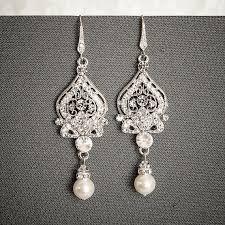 rhinestone chandelier earrings chandelier rhinestone earrings bridal earring wedding earring