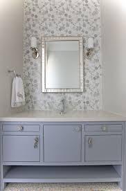 Glass Bathroom Furniture by Glazzio Bubble Glass Bathroom Project Antico Stone