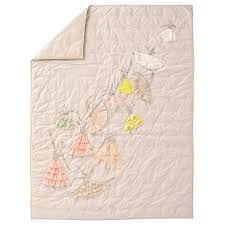 Land Of Nod Girls Bedding by Full Queen Pink Pirouette Kids Quilt The Land Of Nod