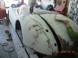 jaguar xk120 classic car restoration van nuys auto body shop