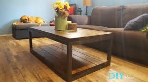 industrial coffee table this diy home