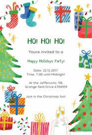 christmas party invitations free printable christmas invitation templates greetings island