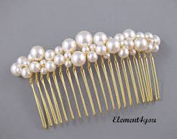 pearl hair accessories bridal comb pearl hair accessories wedding hair swarovski