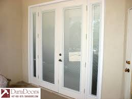 french doors with odl enclosed blinds duradoors