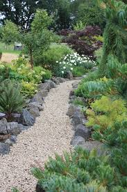 Pea Gravel Front Yard - pea gravel walkway landscape traditional with walkway traditional