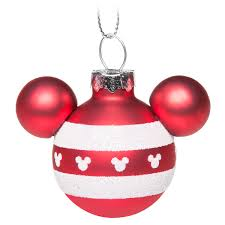mickey mouse icon ornament set and white shopdisney