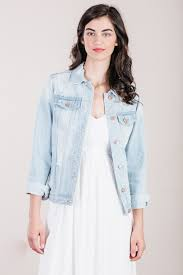 light wash denim jacket womens women s jackets women s denim jackets women s outerwear for elyse