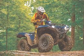 mudding four wheelers atv test 2016 yamaha grizzly 700 u2013 dirt wheels magazine