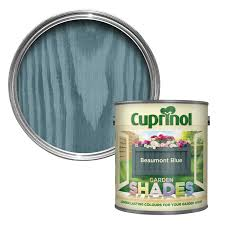 Shades Of Blue Paint by Cuprinol Garden Shades Beaumont Blue Matt Wood Paint 1l
