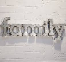 wall art ideas design family decoration metal wall art letters