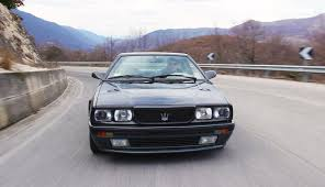 maserati biturbo sedan making a maserati biturbo 2 24 scream on the road davide cironi