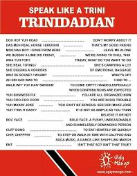 Trini Memes - a trini thing the slang is always the best ent library