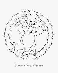 dinosaur king coloring page free download