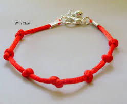 knot cord bracelet images Red knotted kabbalah bracelet red seven knot bracelet red etsy jpg