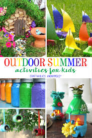 Garden Crafts For Kids - craftaholics anonymous summer outdoor crafts for kids