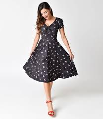1940s dresses unique vintage 1940s style black poodle parade knit sleeve natal