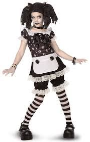 gothic rag doll child tween costume tween costumes costumes and
