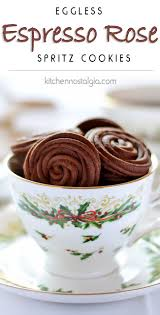 espresso rose spritz cookies recipe easy light espresso and