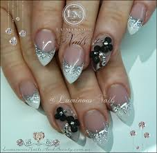 luminous nails with bows www sbbb info
