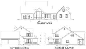 Country Home Plans With Pictures Country Home Plan With Marvelous Porches 4122wm Architectural