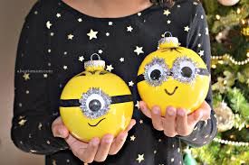 diy minion ornaments about a