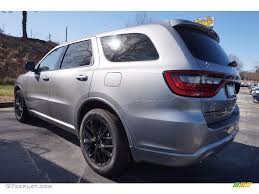 Dodge Durango Rt 2016 - 2016 durango sxt blacktop billet silver metallic black photo