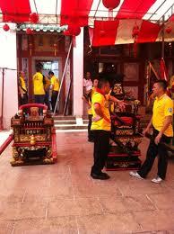 Sedan Chairs Preparing The Deities Sedan Chairs Picture Of Johor Old Chinese