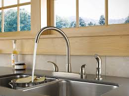 faucet for sink in kitchen best two handle kitchen sink faucets reviews findthetop10 com