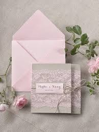 Pink Wedding Invitations Custom Listing 100 Rustic Lace Invitations Pink Lace Wedding