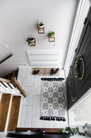 diy split level entry makeover i love this entry the oversize