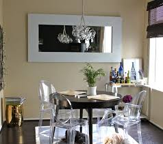 photos hgtv transitional dining room with hanging light fixture