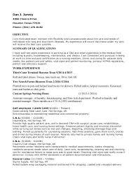 Resume Of Nursing Assistant C N A Va Hospital Resume