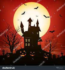 halloween haunted house background images halloween background illustration spooky haunted house stock
