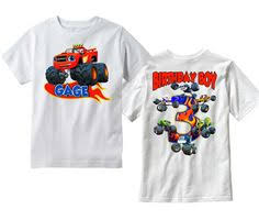 personalized monster truck birthday shirt 3 4 freshfrogtees