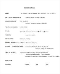 Pharmacist Sample Resume by Cv Template 20 Free Word Pdf Documents Download Free