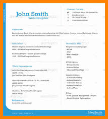 Best One Page Resume Format by Download 1 Page Resume Template Haadyaooverbayresort Com