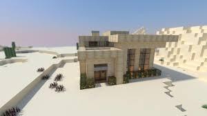 modern desert home design modern minecraft desert house