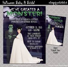 baby shower halloween theme halloween baby shower invitations couples shower we u0027ve