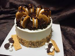 birthday cake delivery soulful s s mores layer cake cake delivery order cake online