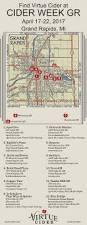 Grand Rapids Michigan Map by Cider Week Gr U2014 Virtue Cider