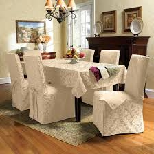 Dining Room Armchair Slipcovers Linen Dining Room Chair Slipcovers Alliancemv Com