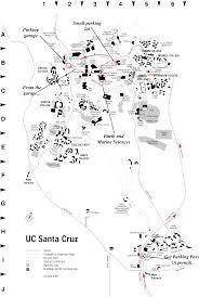 Uc Map Uc Santa Cruz Map Adriftskateshop