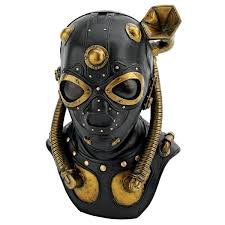 gas mask costume design toscano steunk apocalypse gas mask sculpture reviews