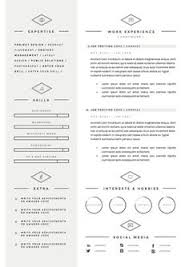 Cv Resume Example Creative Resume Microsoft Word Template Instant Download By