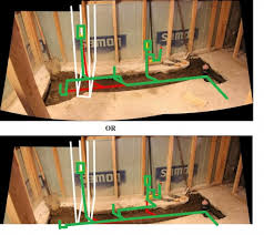 basement bathroom plumbing layout basement jpgbasement plumbing